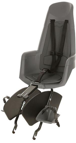bobike Maxi Classic bike child seat rear mount grey